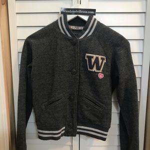 University of Washington varsity jacket